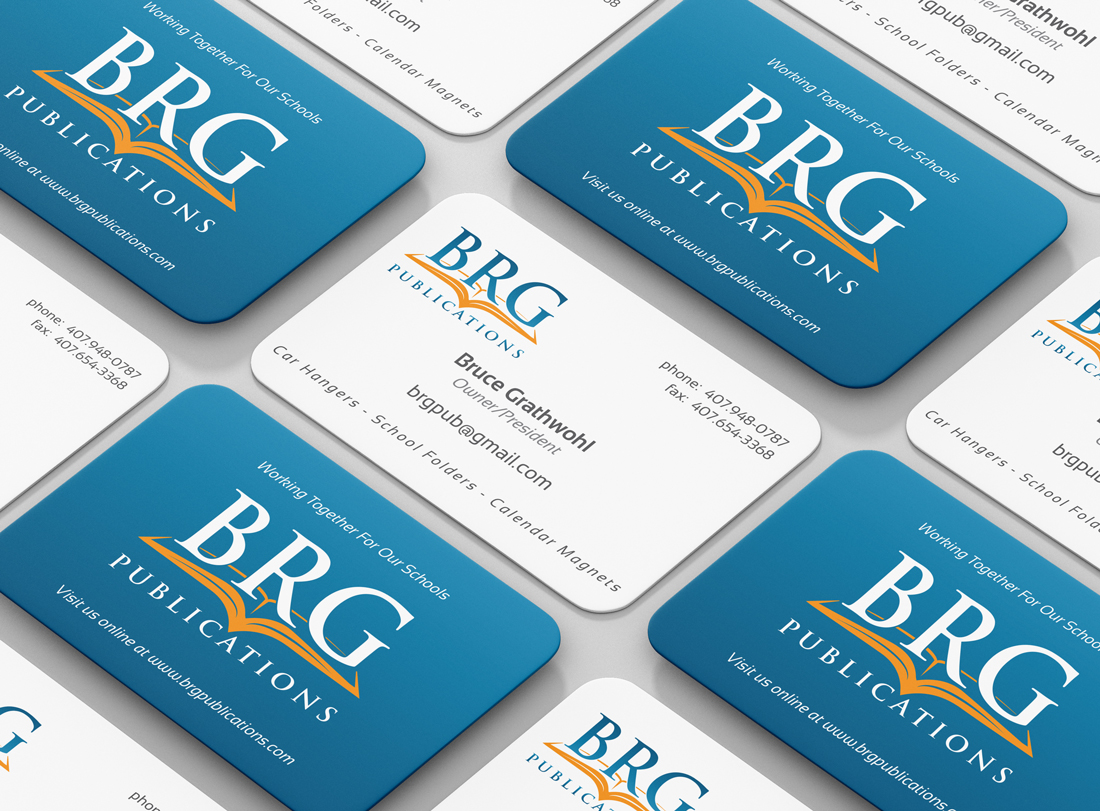 BRG Publications, Inc. Business Cards